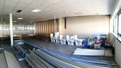 Le chantier de dépose méthodique du Campus Engie à La Garennes Colombe
