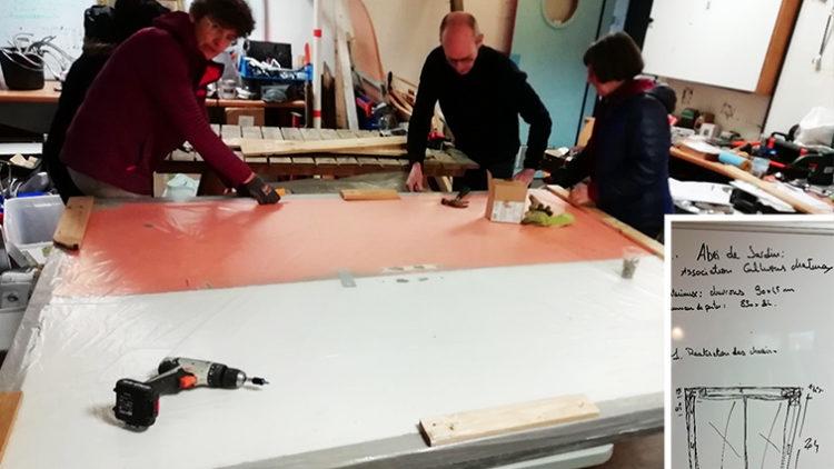 ABRI EXTÉRIEUR POUR JARDIN PARTAGÉ / Cultivons Châtenay